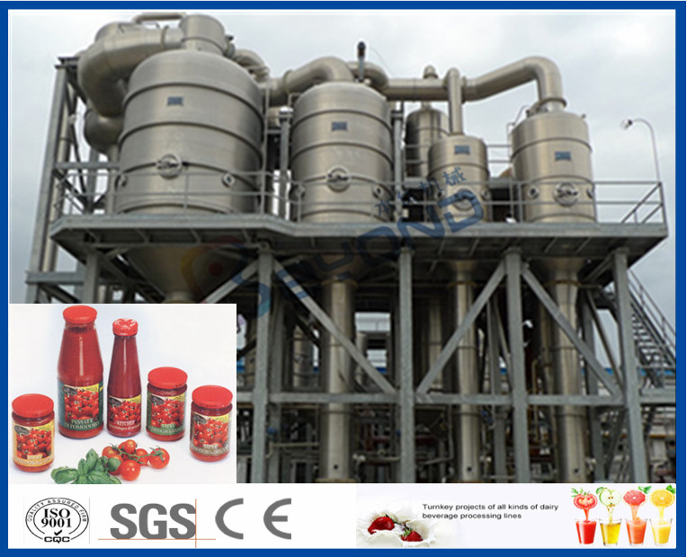 380V 15 T/H Tomato Processing Line Drum Package 12 Months Warranty