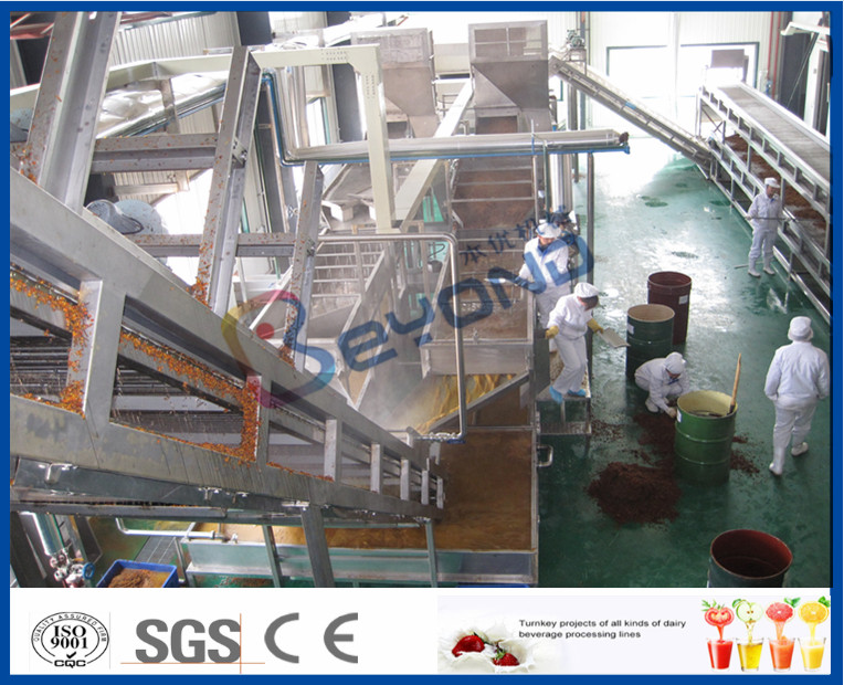 Juice Making Factory Fruit And Vegetable Processing Machinery With Juice Processing Technology