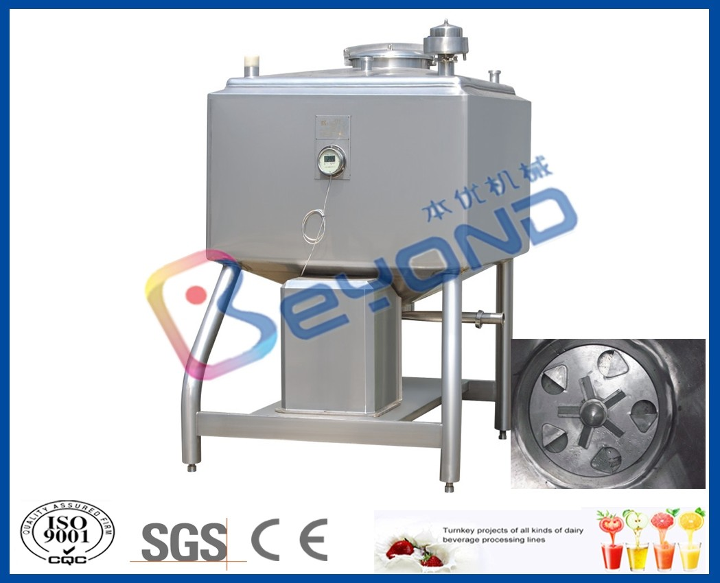 300L-2000L bottom shearing emusification tank for sugar melting tank/ powder dissolving tank