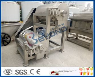 Double Stage Fruit Pulper Machine, Mango Pulping Industrial Juice Extractor Machines