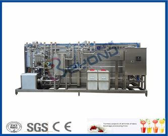 Hot Paste Sterilizer Susu Pasteurization Equipment Otomatis / Semi Auto Control