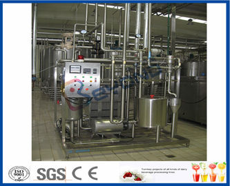 Cina CE High Heat Treatment Pasteurizing Milk Machine Untuk Proses Pasteurisasi Susu pabrik